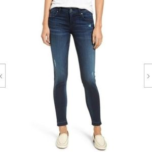 Kut from the Kloth Donna Ankle Skinny Jean Raw Hem
